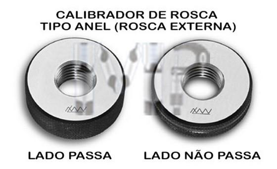 Calibrador de Rosca Preço Mogi das Cruzes - Calibrador de Rosca Tipo Anel