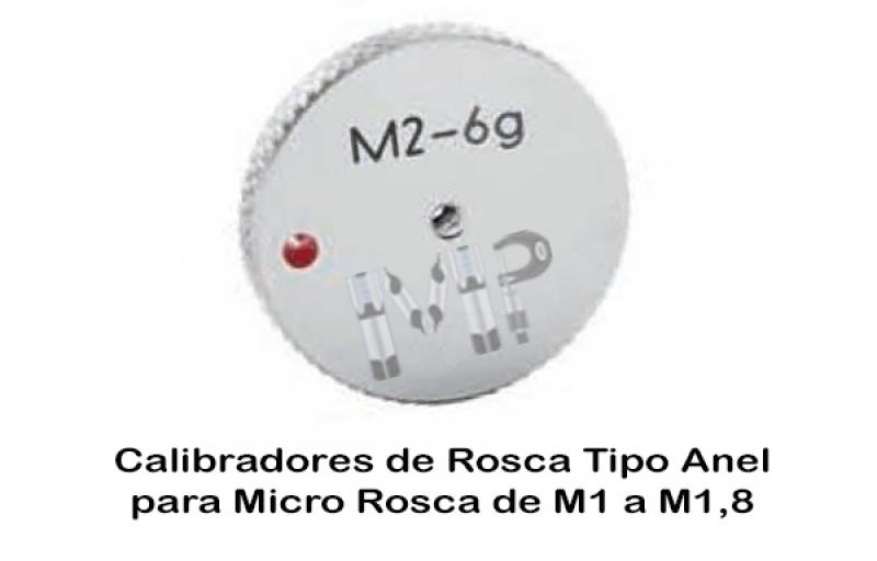 Calibradores de Roscas Manuais Mooca - Calibrador Tampão de Rosca Cônica