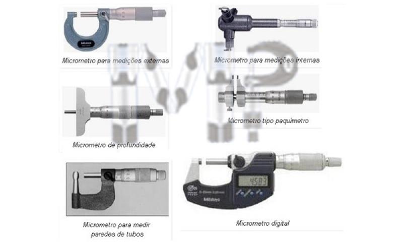 Micrômetros Especiais Preço Ermelino Matarazzo - Micrômetros e Paquímetros