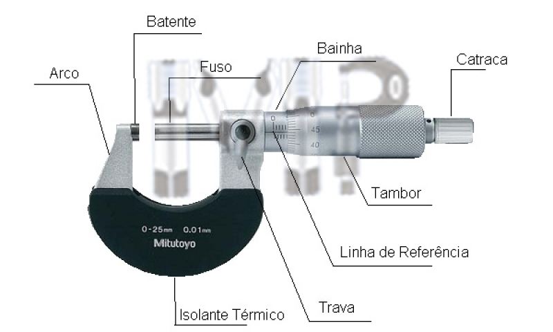 Micrômetros Externos Valor Tatuapé - Paquímetro Bico Longo