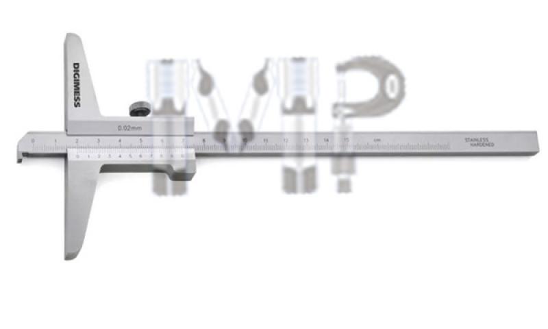 Paquímetro Analógico Resolução Máxima Valor Pedreira - Paquímetro Bico Longo