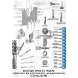 ferramentas de corte usinagem