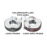 calibrador de rosca anel Guaianases