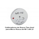 calibradores de roscas manuais Jaguaré