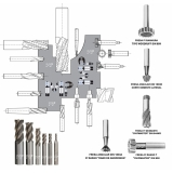 ferramentas de corte usinagem São Domingos